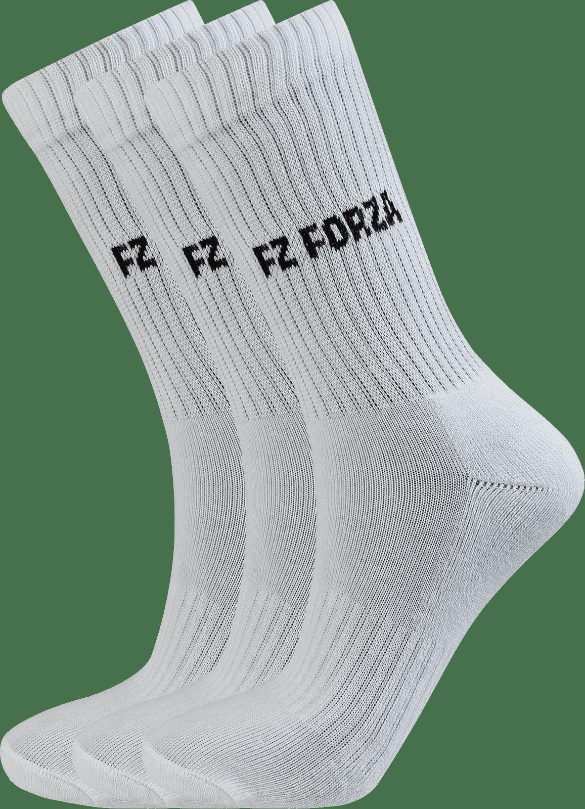 Forza Comfort Sock Long  3 Pack White