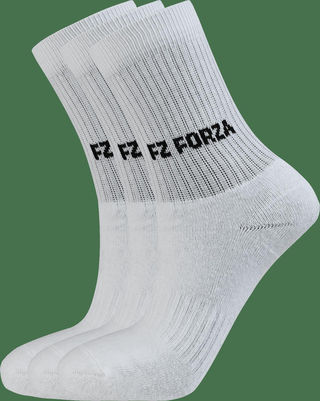 Forza sock Classic 3 Pack White