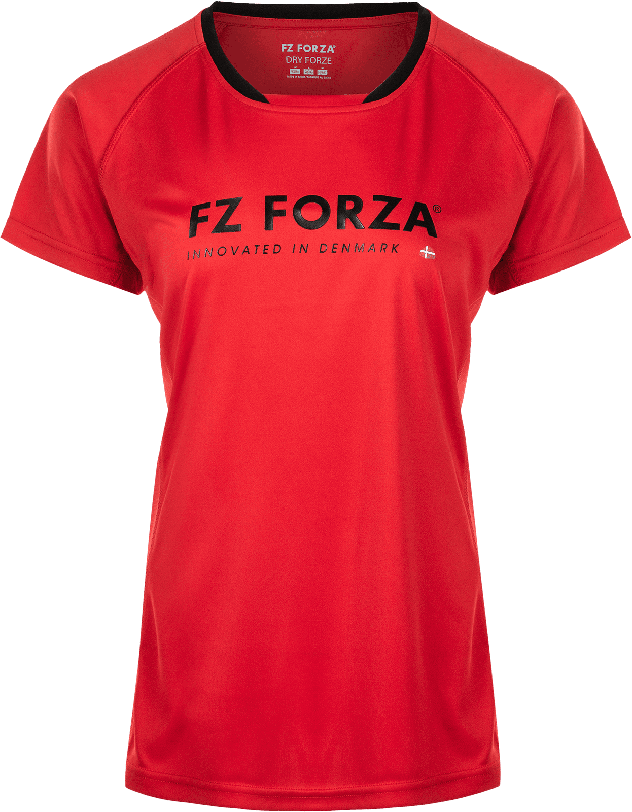 Forza Blingley  T-Shirt, 0455 Chinese Red