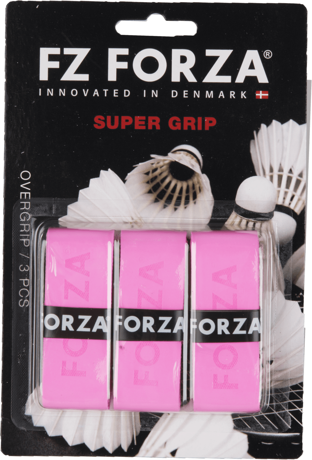 Forza Super Grip 3Pcs. Card, Yellow