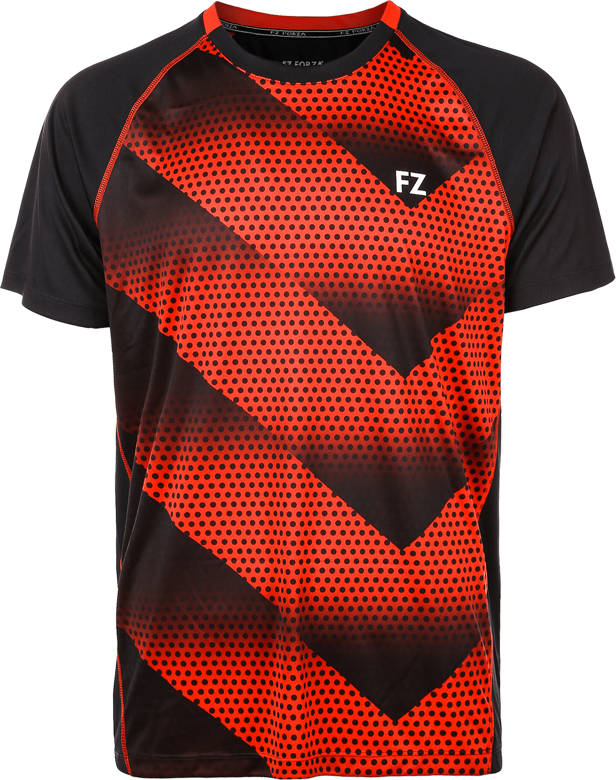 Forza Monthy Jr. S/S Tee, 4009 Chinese Red