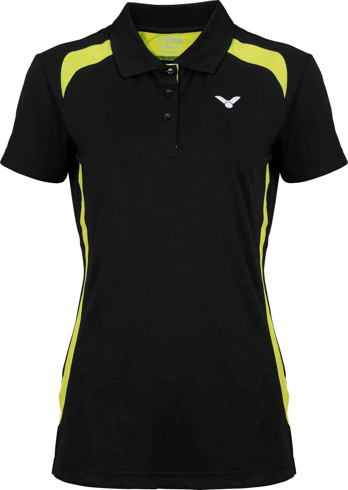 VICTOR Polo Function Female black 6969