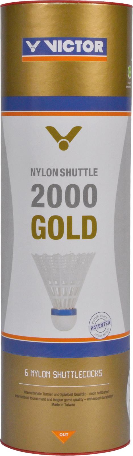 VICTOR Nylonshuttle 2000 medium/white