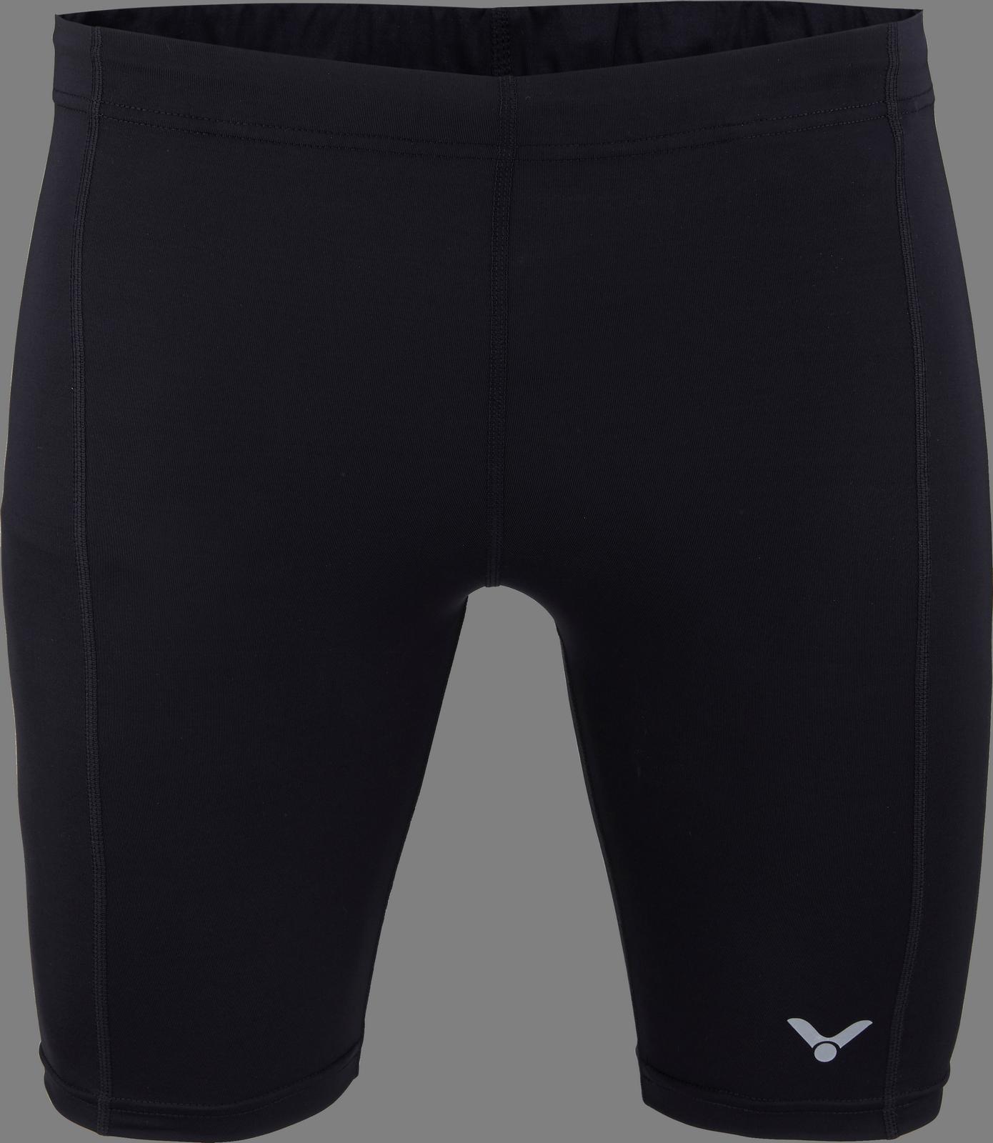 VICTOR Compression Shorts uni schwarz 5718